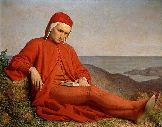 Dante Alighieri, artistic representation