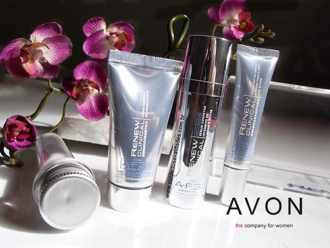 Renew clinical Dermocosmético Anti-rugas Avon