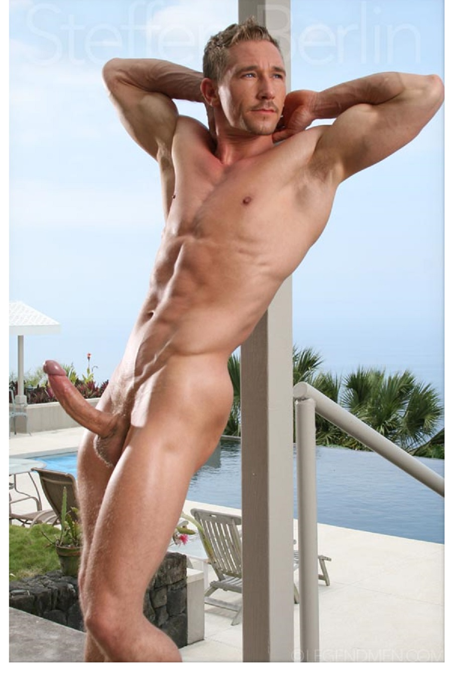 naked man with erection