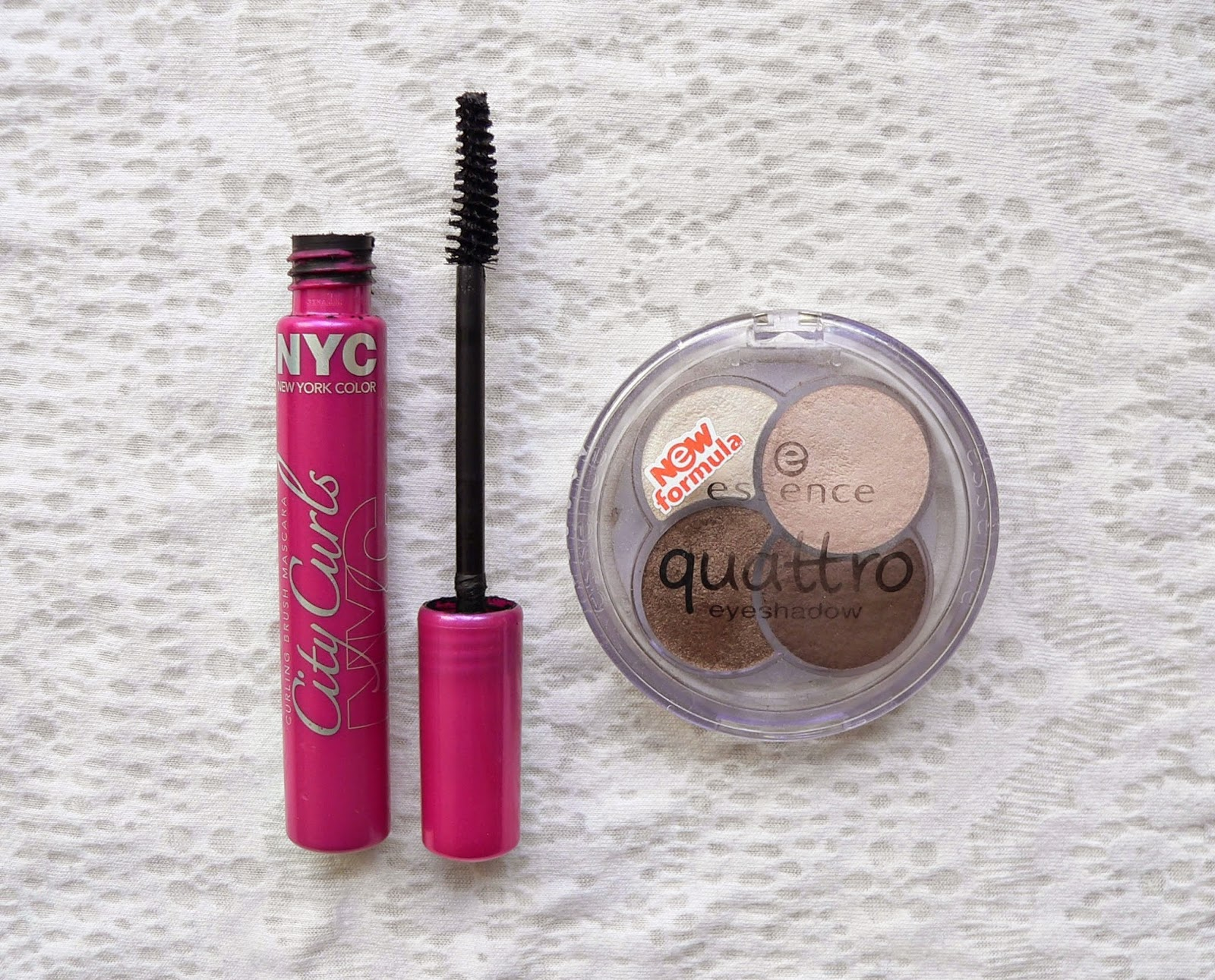 Nyc citi curls mascara, budget, review, make-up, oogschaduw, essence, quattro, to die for