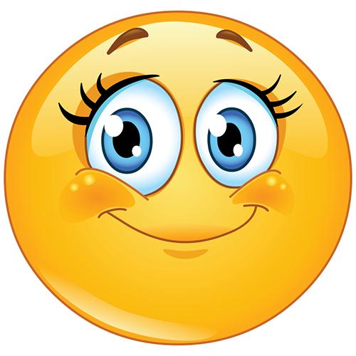 Winky face emoticon