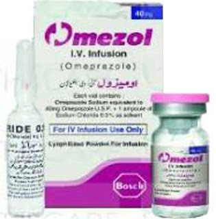Omezol 40mg injection