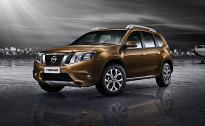 New 2016 Nissan Terrano AMT side profile
