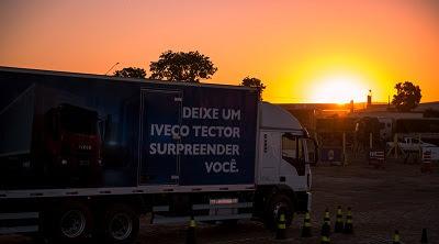 Caminhoneiros levam o IVECO Tector ao limite na etapa de Mato Grosso