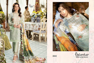 Shree fab Qalamkar Summer Spring Pakistani Suits wholesaler