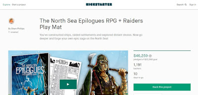 The North Sea Epilogues RPG on Kickstarer