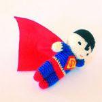 PATRON GRATIS SUPERMAN AMIGURUMI