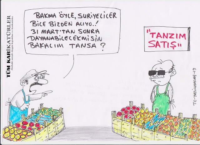 tanzim satışlar karikatür