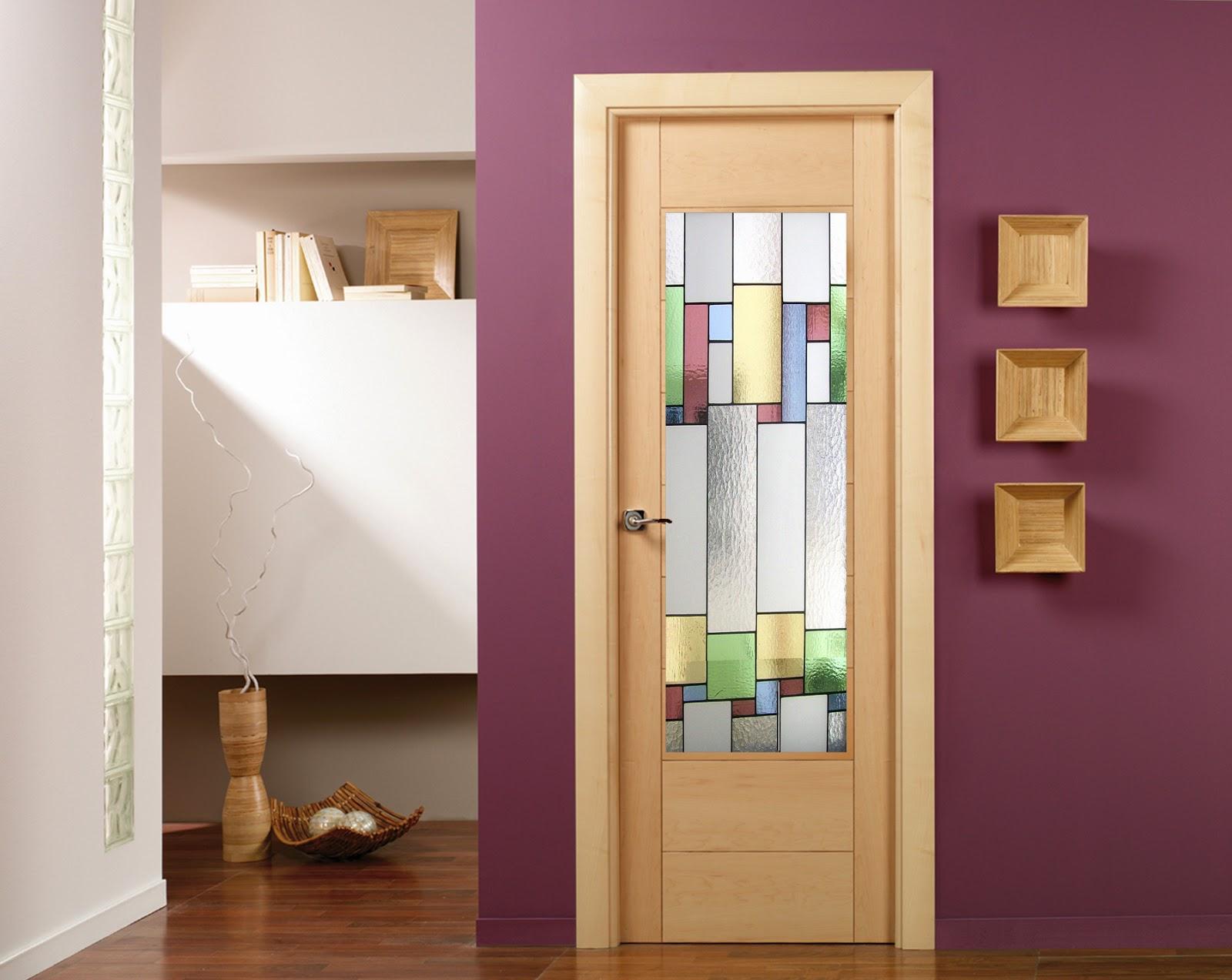 vidrieras artesanas puertas de interior