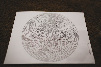 Free printable of Minute to Win it Maze