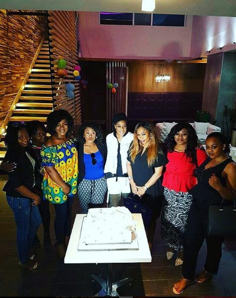 group photo with uche jombo