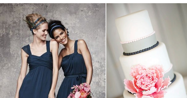 Now Trending: Navy Blue and Pink