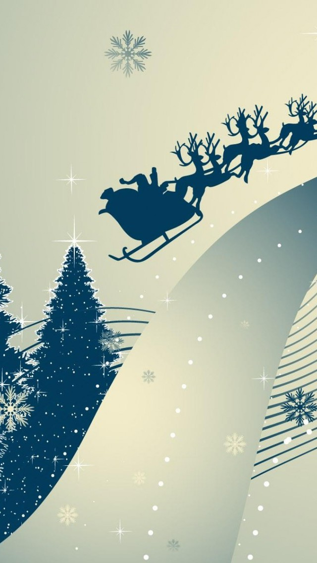 iPhone Smartphone: Free Download HD Christmas Wallpapers for iPhone 5 (640x1136)