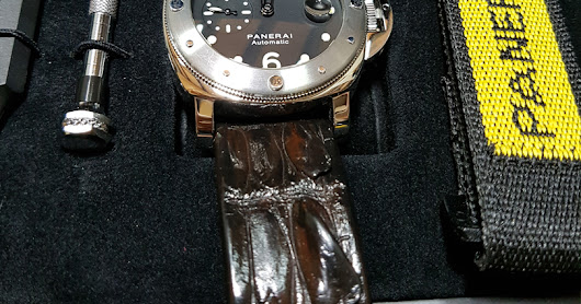 Original Panerai PAM 00024 Luminor Submersible Automatic 44mm