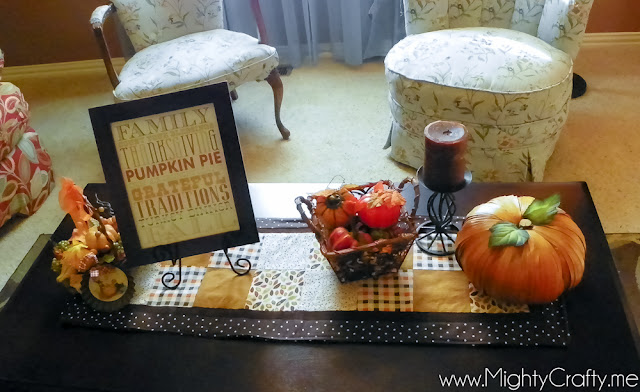 Fall Decor- www.MightyCrafty.me