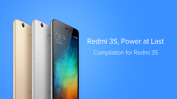 Xiaomi Launched Redmi 3S and Redmi 3S Prime in India