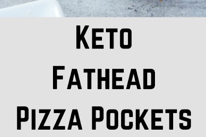 KETO FATHEAD PIZZA POCKETS
