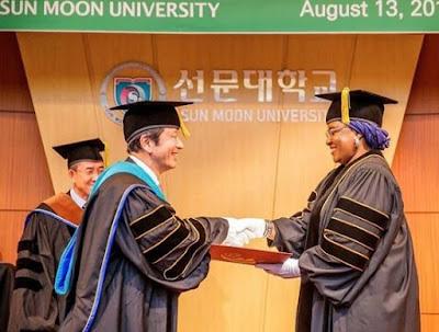Aisha Buhari Honoured In South Korea