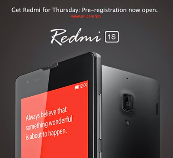 Xiaomi Redmi 1S Registration Up Again Until September 17