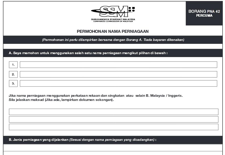 Cara Daftar Perniagaan Di Ssm Suruhanjaya Syarikat Malaysia