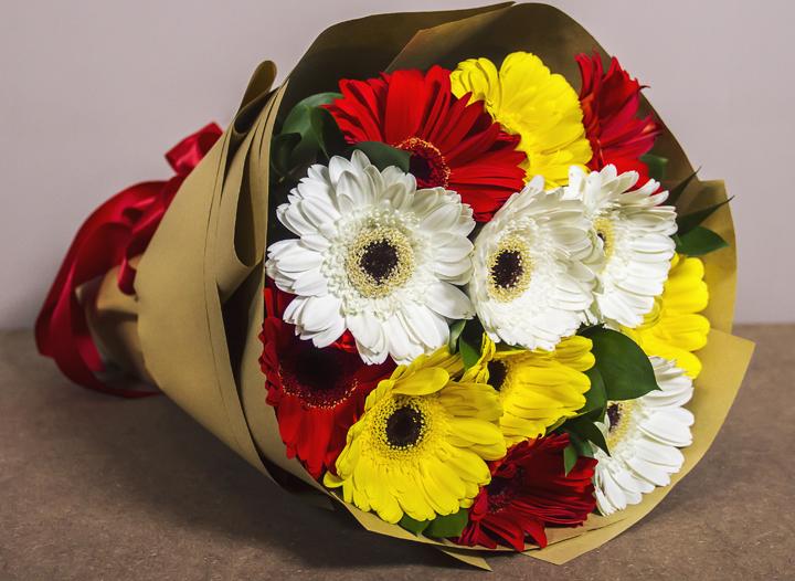 Jambangan Bunga Cantik Flower Chimp