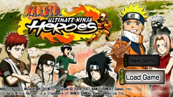 Game PPSSPP Naruto Ultimate Ninja Heroes