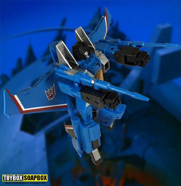 Masterpiece Thundercracker mp11t transformers