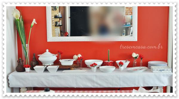 decoração mesa feijoada