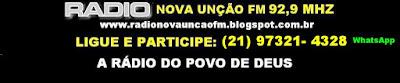 RADIO NOVA UNÇÃO FM 92,9 MHZ