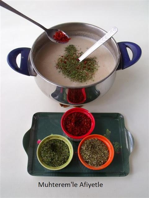 baharatlı çorba