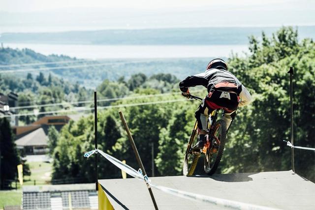 2016 Mont Sainte Anne UCI World Cup Downhill: Claudio Caluori's Track Preview Mark Wallace