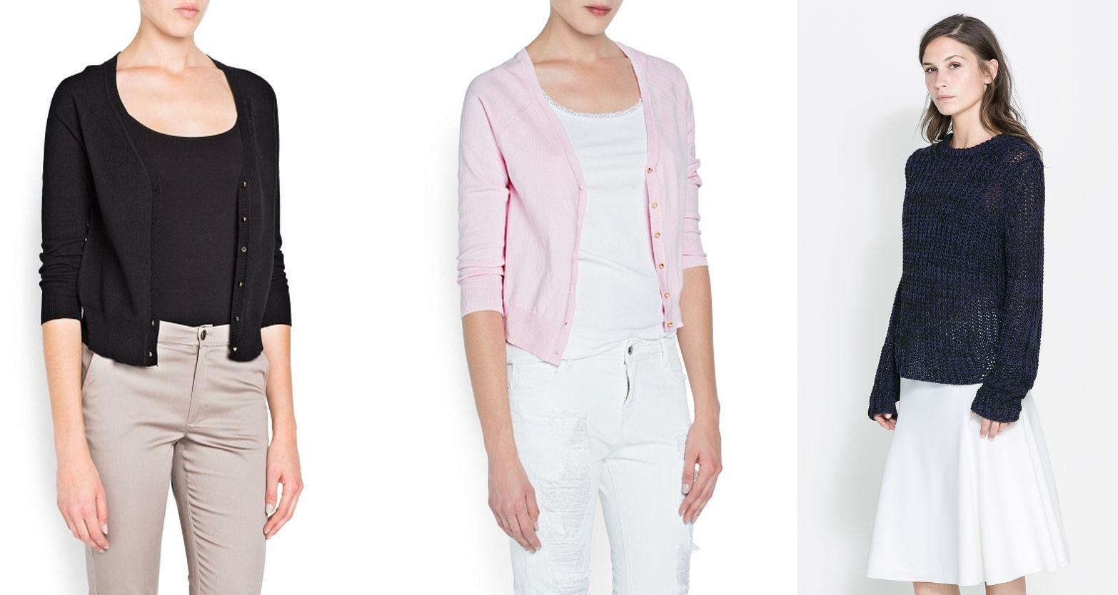 e198c457bdd6ab Tak - krótkie zapinane sweterki idealnie komponują się niemalże z każdą  sukienką. Warto mieć taki ,,dyżurny'' sweterek w biurze. Yes, short  cardigans will ...