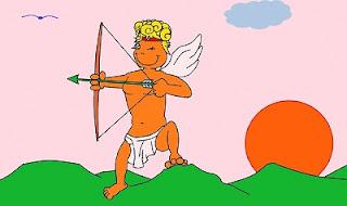 Cupido con arco