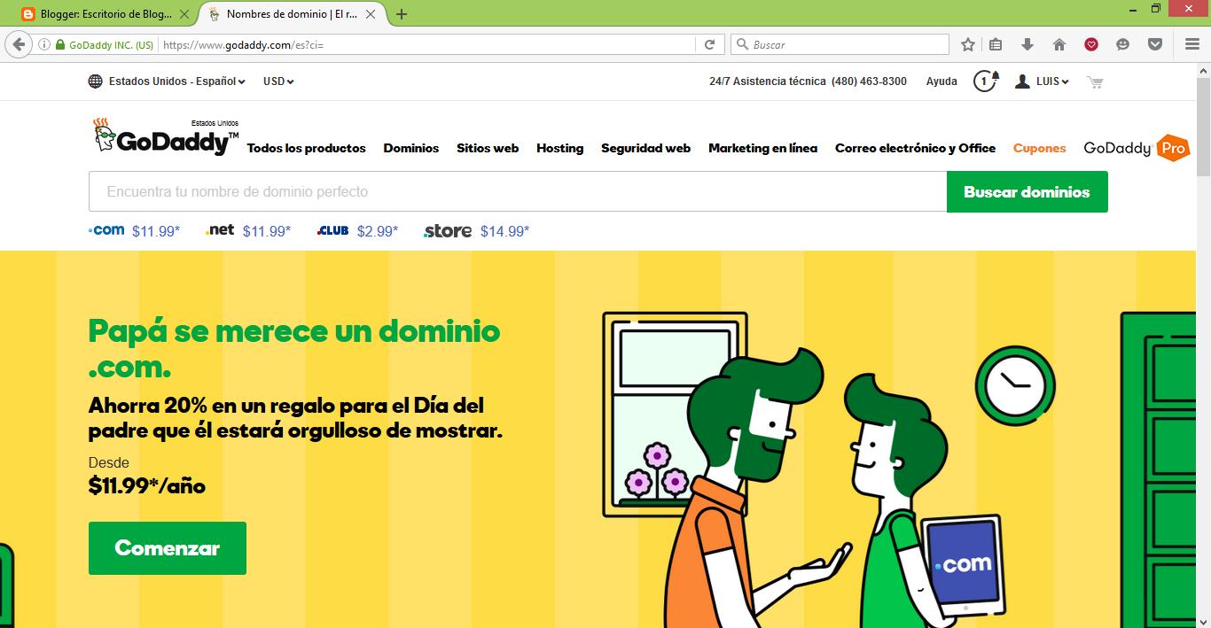 ¿Cómo configurar un dominio comprado en Godaddy en tu blog de Blogger? Video Tutorial