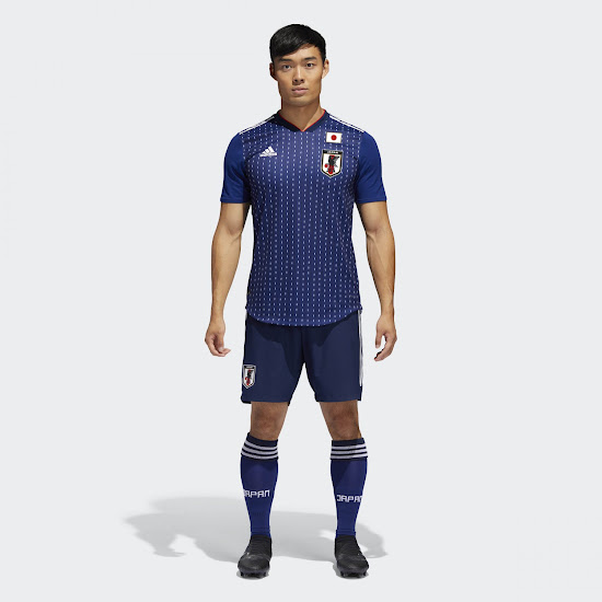 detailed look 78730 87c9a Japan 2018 World Cup Home Kit Released - Footy Headlines