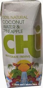Chi coconut water with pineapple