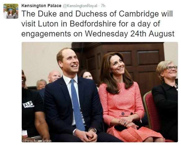 Kate Duchess of Cambridges Kensington Palace renovation