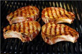 make juicy pork chops for the bbq