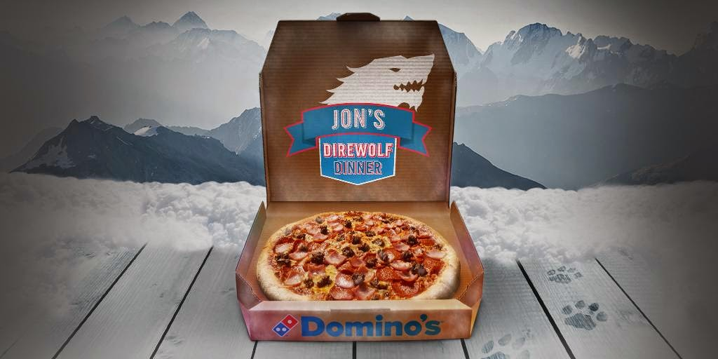 Domino's Pricelist UK 2018