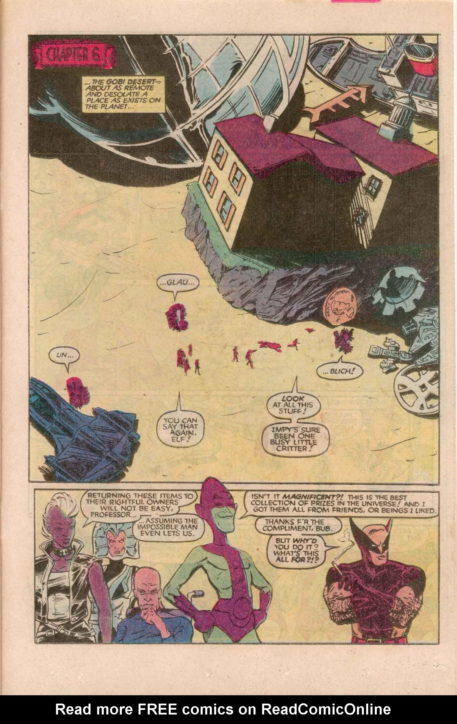 Read online Uncanny X-Men (1963) comic -  Issue # _Annual 7 - 34
