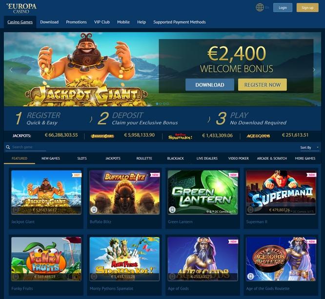 Europa Screen