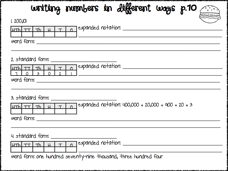 Super Teacher Worksheets Place Value Davezan – Super Teacher Worksheets 4th Grade Math