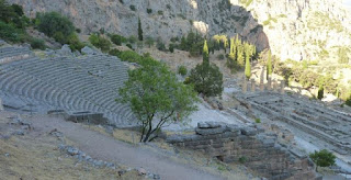 Ruinas de Delfos. Teatro.