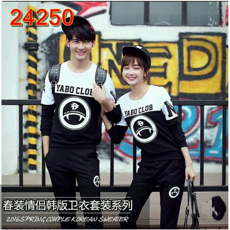 Jual Sweater Couple Sweater Yabo Putih - 24250