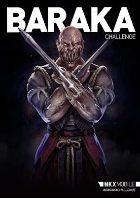 Baraka Flagello - Mortal Kombat X mobile