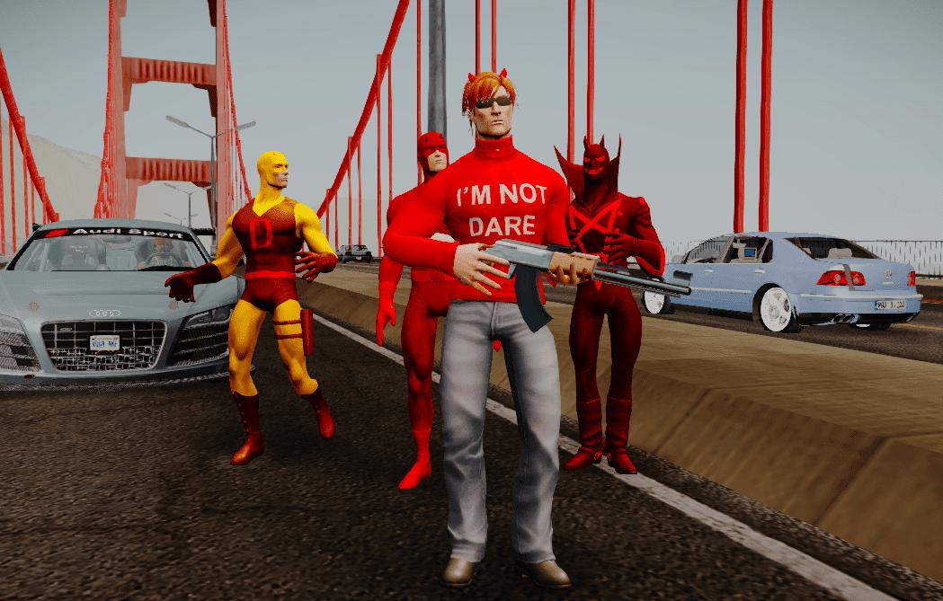 Daredevil GTA San Andreas - GTA SA modding,GTA V, GTA IV