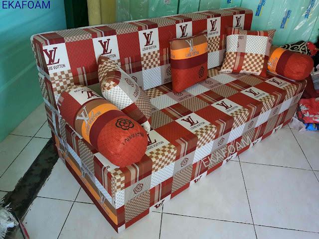 Sofa bed inoac NEW ELVE COKLAT / ELVE COKLAT BARU