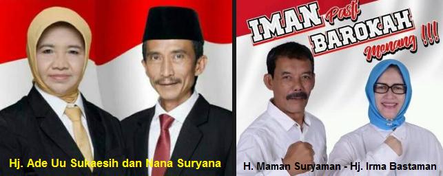 Dua pasang calon walikota dan wakil walikota Banjar 2018