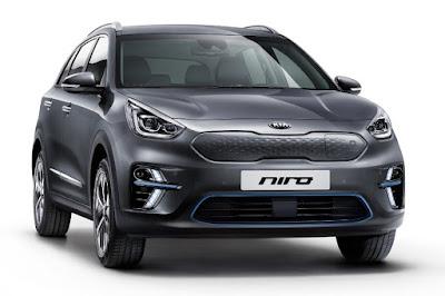 Kia e-Niro (2019) Front Side