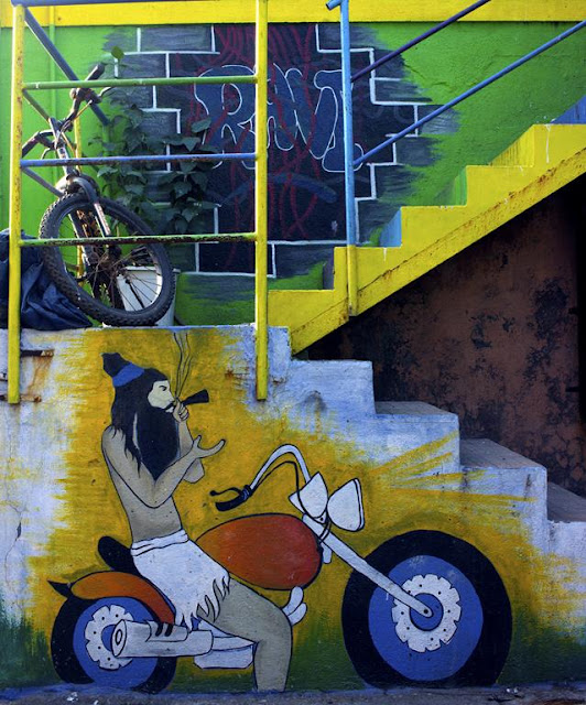 wall art, art, painting, worli, mumbai, koliwada, india, street, street art, street photography, streetphoto,